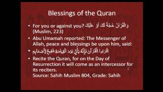 Why and How to Memorize the Quran