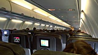 turbulence at 615 mph - Boeing 737 (Westjet)