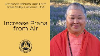 Increase Prana from ️Air
