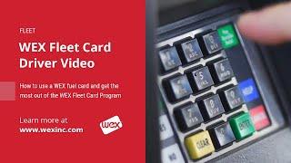 Fleet Card Driver Video