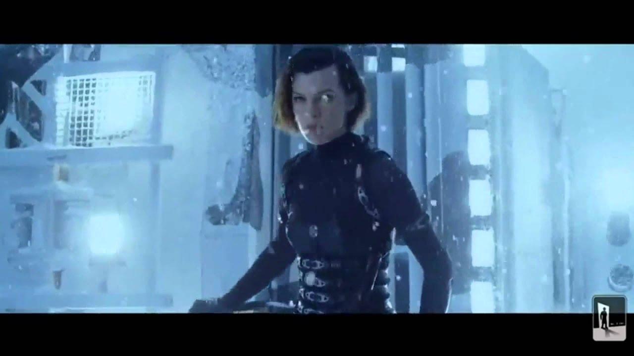 Resident Evil Retribution Hd Fight Scene Alice Vs Jill Leon Luther Vs Rain Youtube