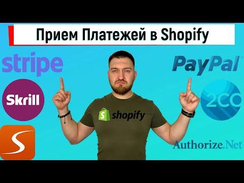 Платежные Системы для Shopify