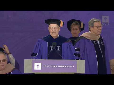 2016 NYU Commencement Honorary Degrees Awarded