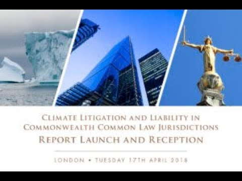 Commonwealth Climate and Law Initiative (CCLI) Country Report Launch and Reception