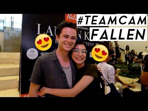Is Lauren Kate TeamDaniel or TeamCam  Fallen Book Signing and Premiere Night in Manila