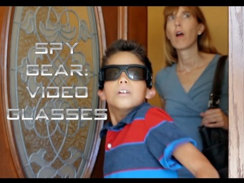 Prepared for the Unexpected- Spy Gear Video Glasses
