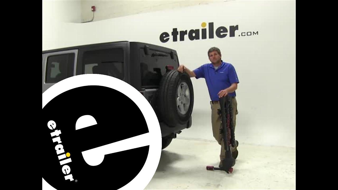 review of the yakima fulltilt hitch-bike-racks on a 2014 jeep