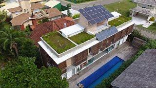 Prêmio de sustentabilidade para casa em Jurerê Internacional
