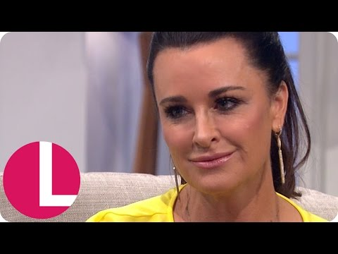 Beverly Hills Housewife Kyle Richards Chats to Lorraine  Lorraine