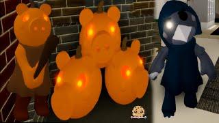 New Skin Pumpiggy + Crove Piggy BOOK 2 Halloween Update Roblox Game Video
