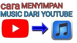 Cara mendownload lagu dari youtube langsung ke music