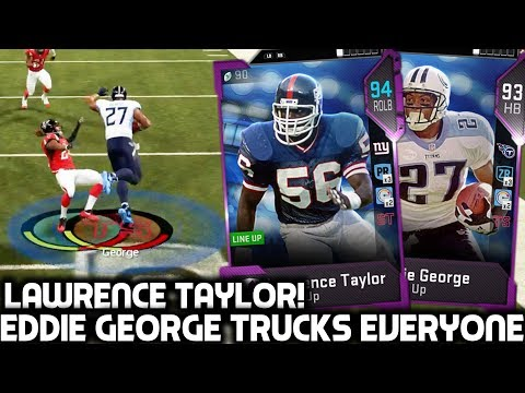 SCARIEST RUNNING BACK IN MADDEN! LAWRENCE TAYLOR! Madden 19 Ultimate Team