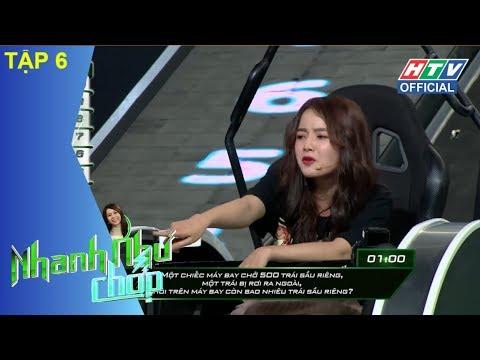 HTV NHANH NHƯ CHỚP | Quang Đại xứng danh soái ca đẹp trai thông minh | NNC #6 FULL | 12/5/2018