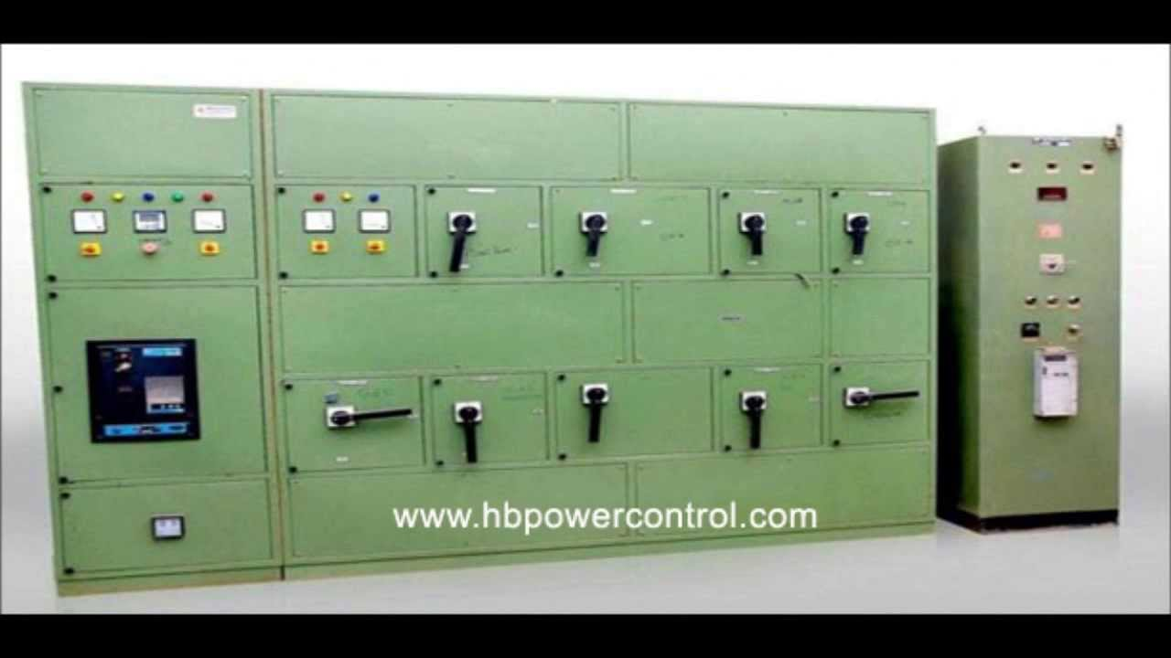 Making of Electrical Control Panel Board | AC Drive | AMF | MV ...