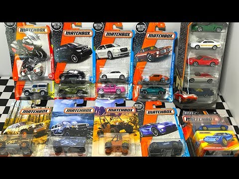 Opening Matchbox Toy Cars, Camouflage Vehicles, And 5-Car Pack!