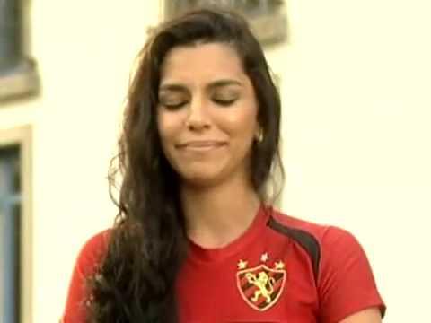 Entrevista De Wanessa Mattos, Musa Do Sport No Brasileirão 2009
