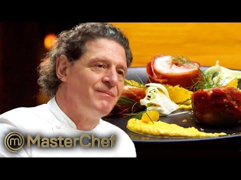 Marco Pierre White Impressed By Chicken Roulade Relay Team Challenge   MasterChef Australia