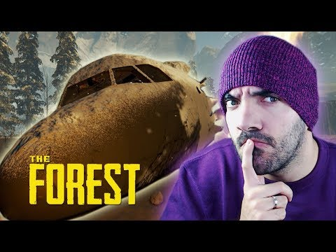 ¡ENCONTRAMOS LA CABINA DEL AVIÓN! ⭐️ The Forest #4 | iTownGamePlay