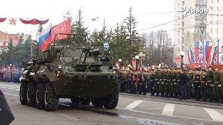 Городские события. Парад победы 9 мая в Томске
