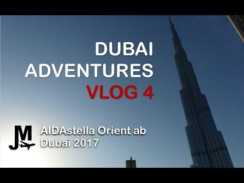DUBAI DESERT SAFARI - Vlog 4 AIDAstella Orient from Dubai 2017