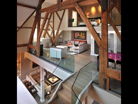 CONTEMPORARY INTERIOR DESIGN  GOTHIC PENTHOUSE TRANSFORM