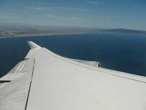 Lufthansa Boeing 747 Take Off Los Angeles (LAX) to Frankfurt (FRA)
