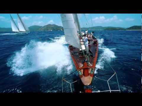 Beautiful 95' Classic Sailing Yacht SINCERITY video depiction - for sale or charter