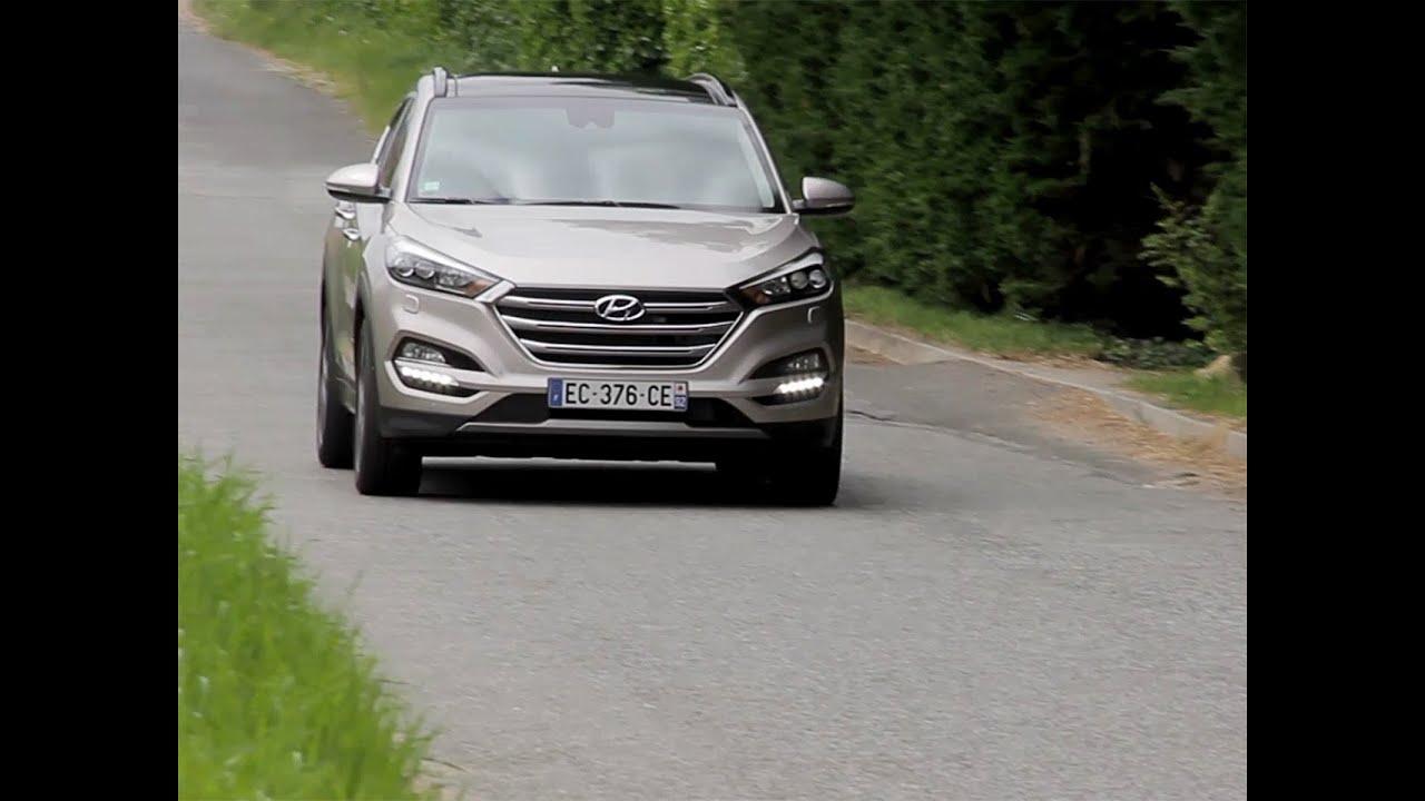 Hyundai Derniers Modèles >> Essai Hyundai Tucson 1 7 Crdi 141 Dct7 Executive 2016 Youtube