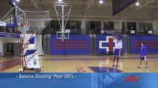 DeMatha's Alan Stein shows his 360 Degree Pivot shooting drill