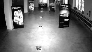 Тестовая видеозапись с IP камер XVI серии 12хх 1,3Mp ночь