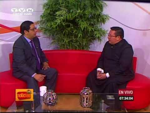 P. Iván Onofre, Vicario de Diócesis de Ibarra (Café Noticias Ecuador)
