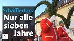 Die Schäffler tanzen in Murnau | Abendschau | BR24