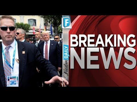 BREAKING News From The CIA – President Trump Is In Serious Danger.