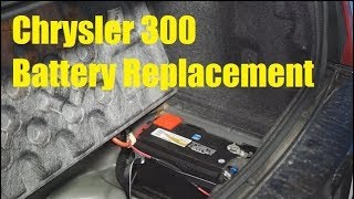 Chrysler 300 Battery Replacement - The Battery Shop