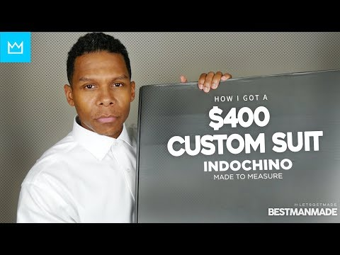 $400 CUSTOM SUIT FROM INDOCHINO // BESTMANMADE