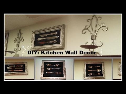 DIY: Kitchen Wall Decor Under $10 00