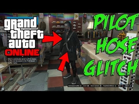 GTA 5 Online - Flight Suit Hose Glitch! Clothing Tips & Tricks! After Patch1.37