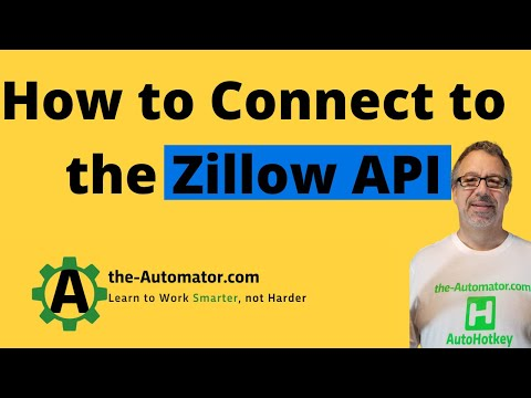 Example Webservice / API call- Zillow -Get deep search