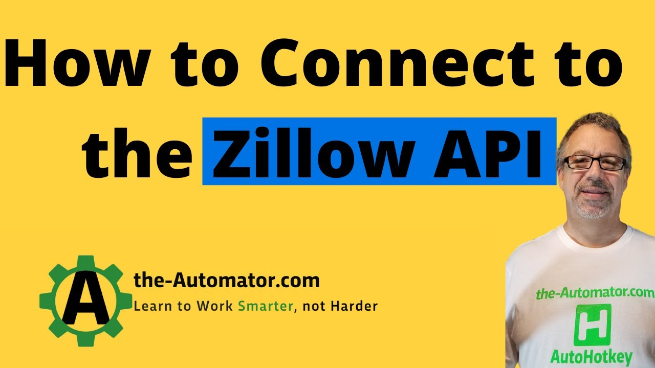 Example Webservice / API call- Zillow -Get deep search results