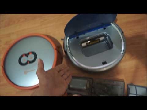 Rollibot LaserEye Robotic Vacuum with 2D & 3D mapping via android and iOS app, automatic vacuum