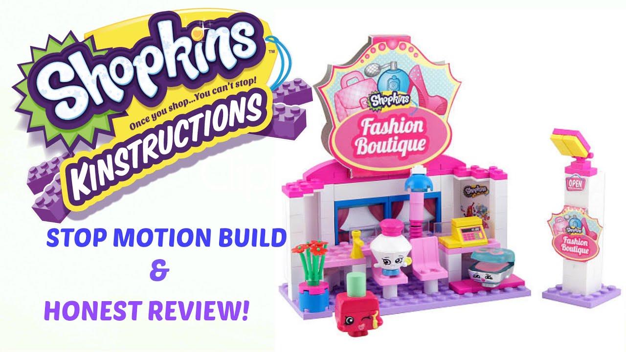 Shopkins Kinstruction Set Fashion Boutique Build Honest Review