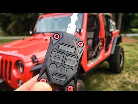 Jeep Key Upgrade!  AJT Designs
