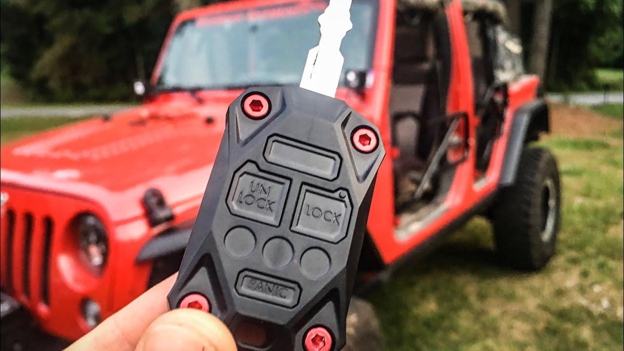 Jeep Key Upgrade Ajt Designs Youtube