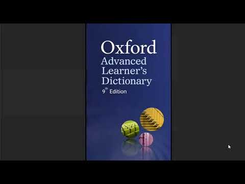 Install Oxford Advance Learners Dictionary On Any Android Phone