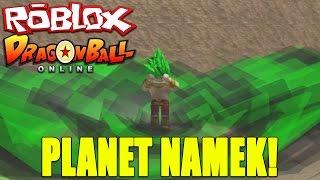 ROBLOX Dragon Ball Online: Planet Namek | King Kai's Planet | God Beam vs. Vegeta