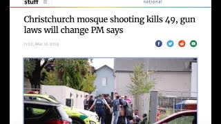 Right Place Wrong Time / Christchurch shooting day on March 15th