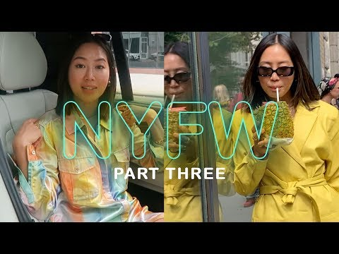 NYFW Part 3: Missing a show, Tommy x Zendaya, Tibi | Aimee Song