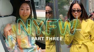 NYFW Part 3: Missing a show, Tommy x Zendaya, Tibi | Aimee Song