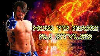 Wie man AJ Styles NJPW in WR3D