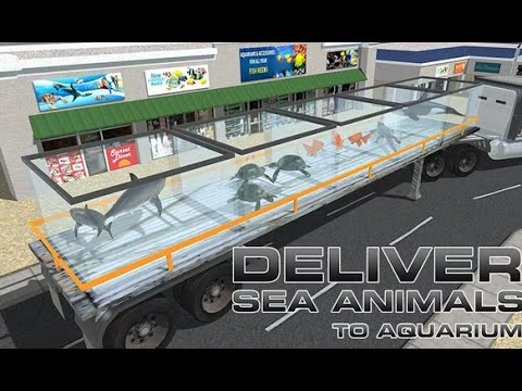 Transporter Truck Sea Animals Android Gameplay HD
